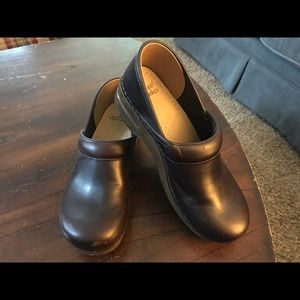 Dansko brown leather clog euro 41